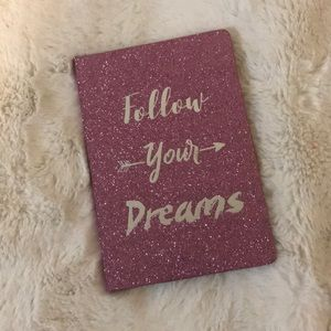 Other - Follow Your Dreams Sparkly Journal